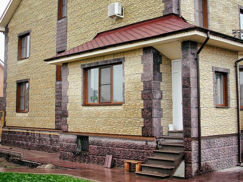 Облицовка фасадов