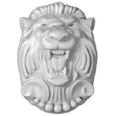 Лев на картуше