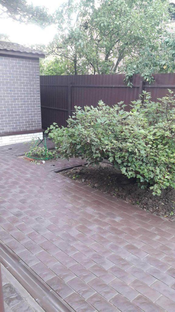 Укладка тротуарной плитки в Солнечногорске.